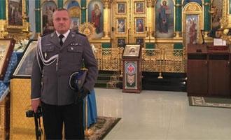 Delegacja ZG NSZZ Policjantów iKGP wTwerze iMiednoje